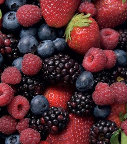 Brambles Berries - Blueberries, raspberries, blackberries, strawberries