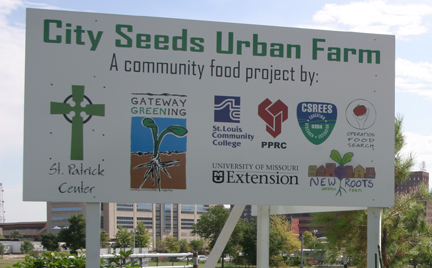 City Seeds Urban Farm Sign